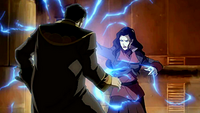 Asami electrocutes Hiroshi