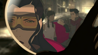 Asami realizing