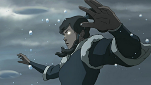 Avatar Korra waterbending