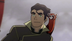 Bolin with Pabu