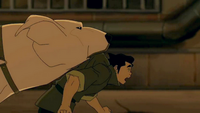 Bolin with Naga