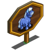 Frosty Mini Horse Mastery Sign-icon