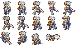 FF4PSPBattle Paladin Cecil