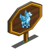 Icy Blue Pegasus Mastery Sign-icon