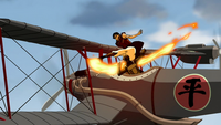 Iroh hijacking a plane