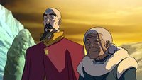 Katara and Tenzin