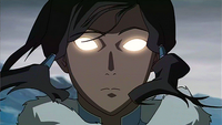 Korra in the Avatar State