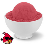 Angry Birds Ice Cream - Pomergranate