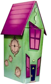 Invader Zim House Box set