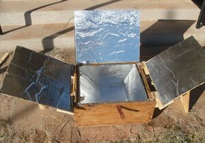 Easy Solar Cooker (laying flat), 11-12,12
