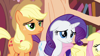 Rarity cute ear drop S3E1