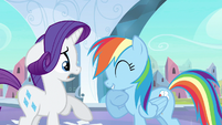 Rarity &amp; Rainbow Dash emotion mix S3E1