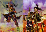 Dynasty Warriors 4 Artwork - Sun Ce