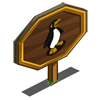 Mistletoe Penguin Mastery Sign-icon