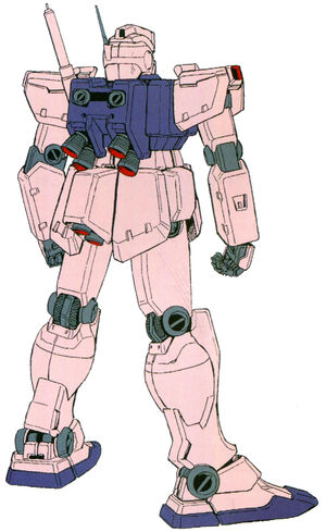 RGM-79C(GM TYPE-C) back