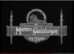 Metro Goldwyn Pictures Logo