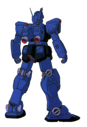 RGM-79Q(GM QUEL) back