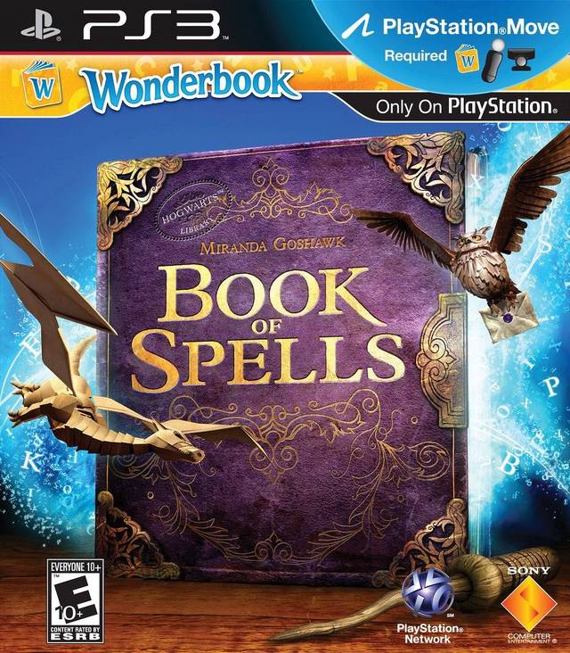 Harry Potter Book Wiki : Wonderbook book of spells harry potter wiki