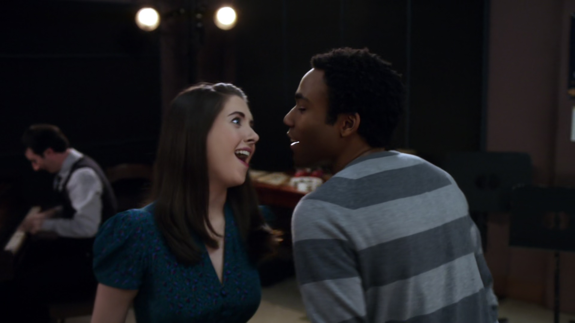 community troy britta dating Britta perry (born october 19, 1980) is a character in the nbc/yahoo sitcom community she is played and voiced by gillian jacobs britta is a politically interested and socially empathetic psychology student at greendale community college, and is often used as a scapegoat by the other members.