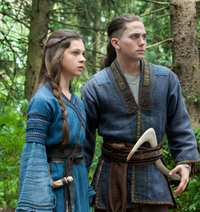 Film - Katara and Sokka in the forest