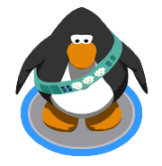 Puffle Care Sash ingame