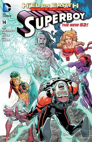 Cover for Superboy #14
