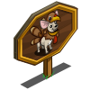 Turkey Dog Mastery Sign-icon