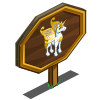 Winter Pegacorn Mastery Sign-icon