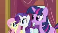 Rarity &amp; Twilight happy S3E3