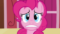 Remaining Pinkie clone&#39;s face watching paint S3E3