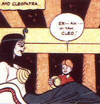 Cleopatra boy comics