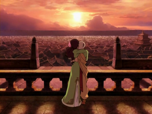 Aang and Katara&#39;s finale kiss