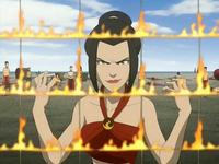 Azula relishes victory