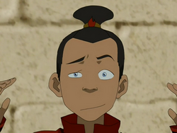 Sokka&#39;s top-knot