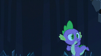 Spike &#39;What were you looking at&#39; S3E2