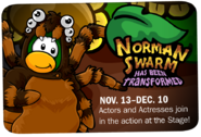 Norman Swarm advertisement