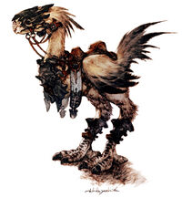 FFXIV Legacy Chocobo