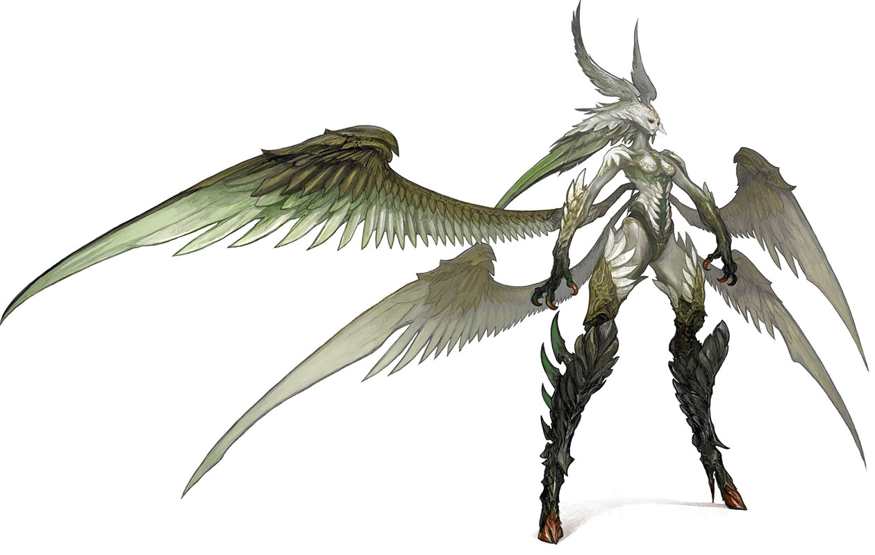 Garuda (Summon) - The Final Fantasy Wiki has more Final Fantasy ...