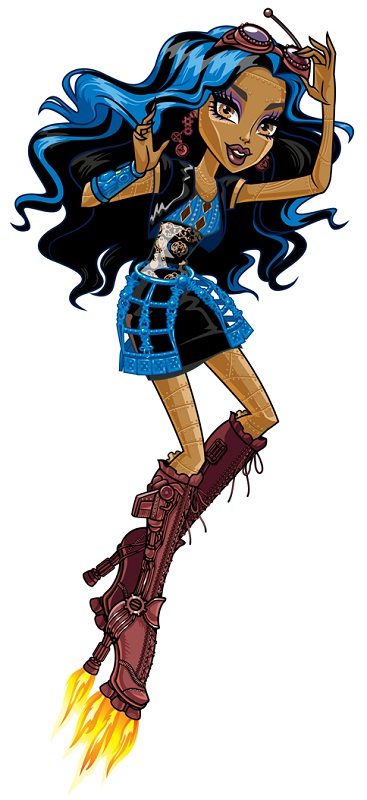 monster high coloring pages robecca steam - robecca steam monster high wiki