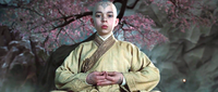 Film - Aang meditating