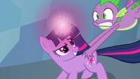 Twilight &#39;I actually studied gravity spells&#39; S3E2