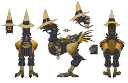 Black Mage chocobo FFXIV