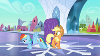 Rainbow Dash guard dog S3E2