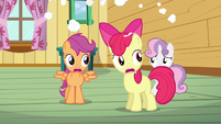 Scootaloo &amp; Apple Bloom NO!! S3E4