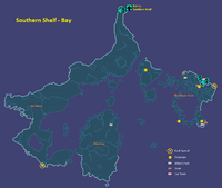 Southern Shelf Bay Map