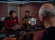 LaForge explains containment unit