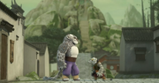 Tai Lung and Peng