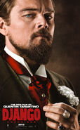 Dicaprio django character poster