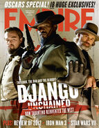 Django empire magazine cover