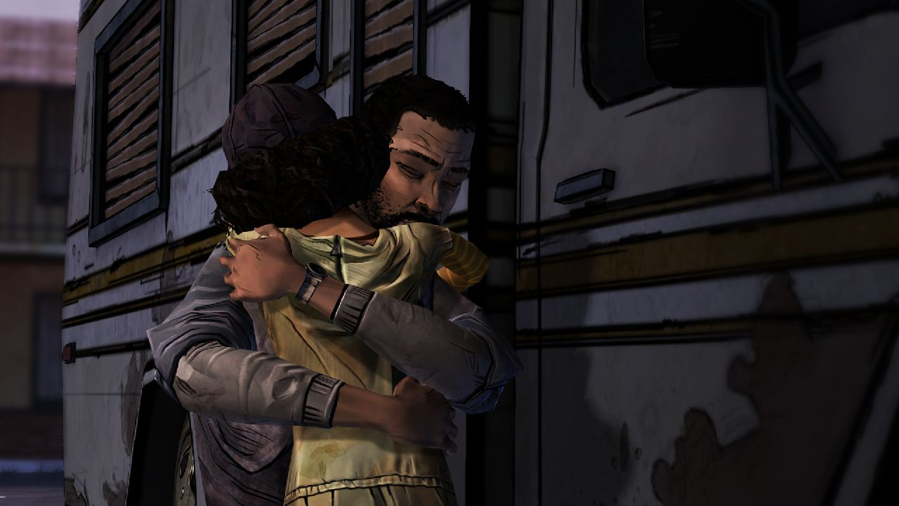 Lee and Clementine Positive Gaming / Video game anxiety